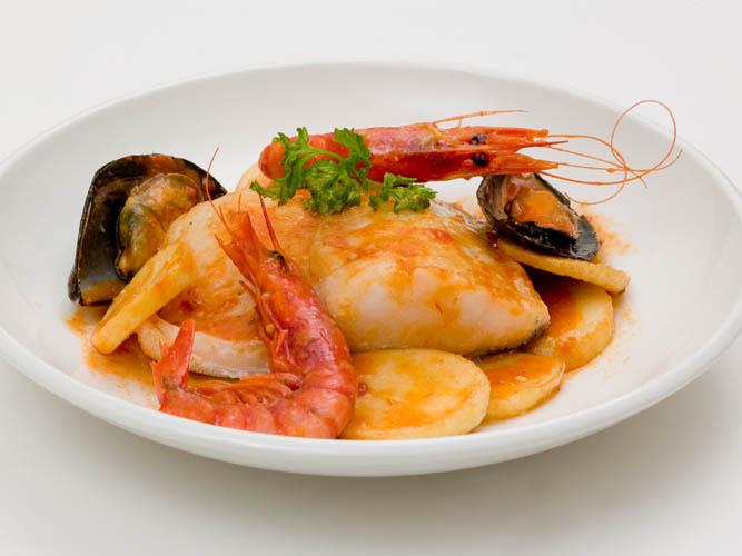 Salt cod, Biscay style