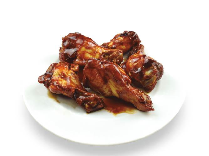Ailes de poulet à la sauce barbecue