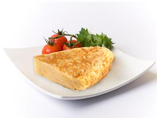 Omelete avec pommes de terre