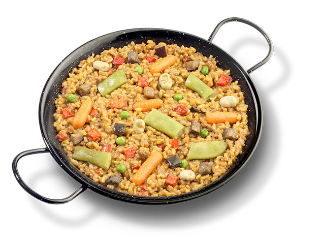 Brown rice with vegetables