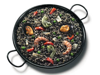 Paella De Riz Noir
