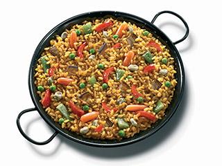 Vegetables Paella